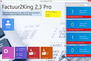 Factuur2King 2.3 nu beschikbaar